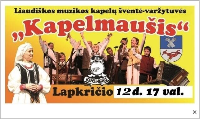 """""""Kapelmaušis – 2016"""""""