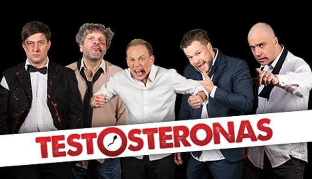 DOMINO teatras | komedija TESTOSTERONAS