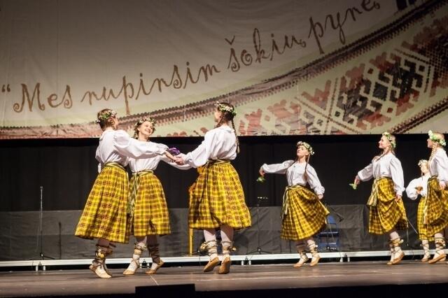 """Tarptautinis vaikų tautinių šokių ir dainų festivalis """"Mes nupinsim šokių pynę 2017"""""""