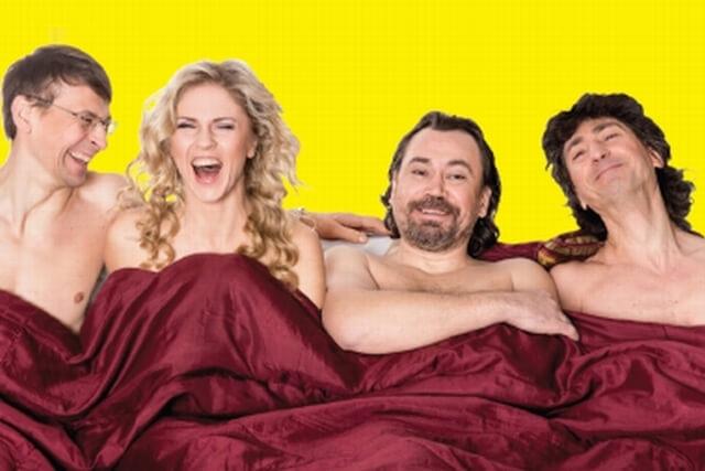 DOMINO teatras   komedija DIENA BE MELO