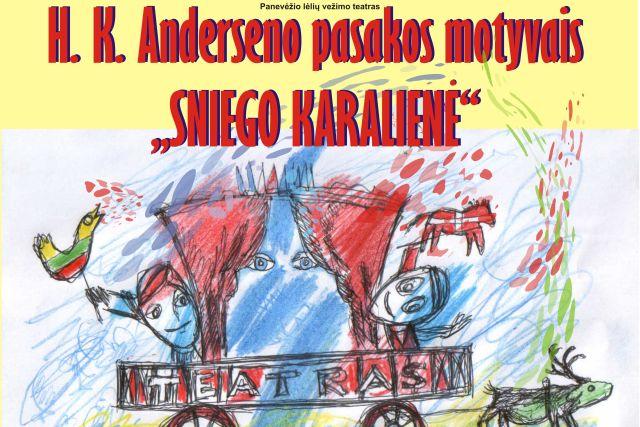 """PREMJERA. H. K. Anderseno pasakos motyvais """"Sniego karalienė"""""""