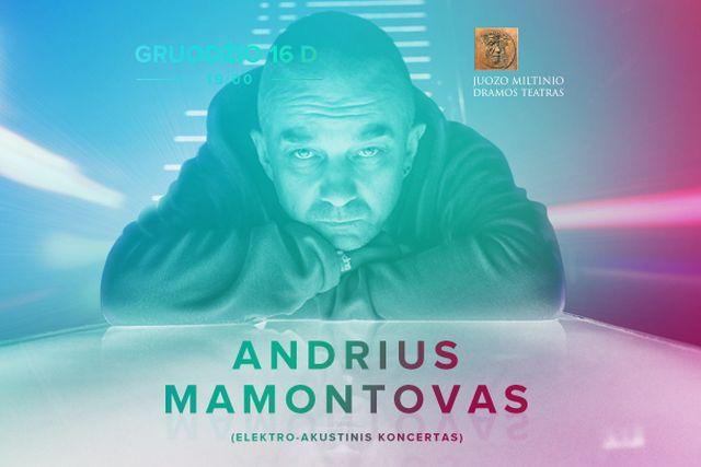 Andrius Mamontovas (elektro-akustinis koncertas)