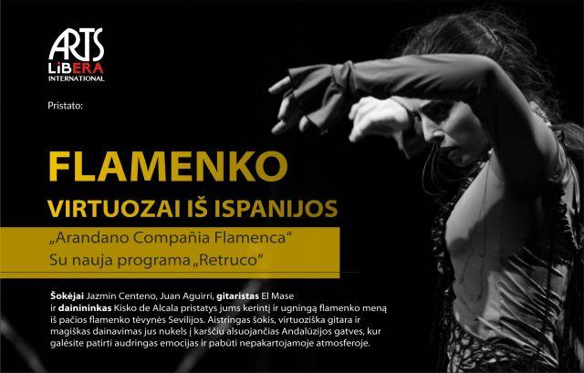 """""""Arandano Compania Flamenca"""" iš Ispanijos su įspūdinga programa RETRUCO"""