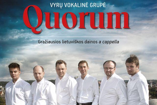 Quorum – Gražiausios lietuviškos dainos a cappella