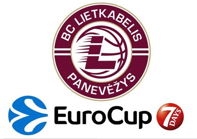 """""""Lietkabelis"""" – """"Galatasaray Odeabank"""" Istanbul 2017/2018 metų 7Days Eurocup TOP 16"""