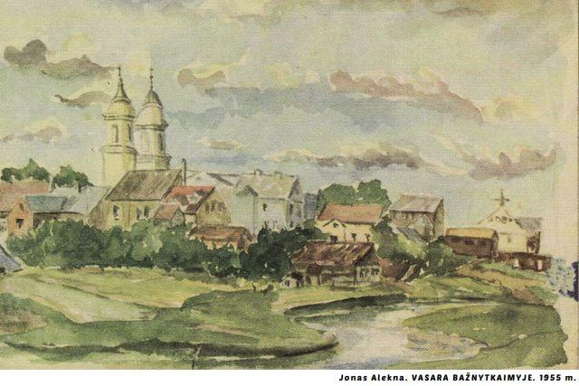 Jono Aleknos vaizduojamosios dailės darbų paroda