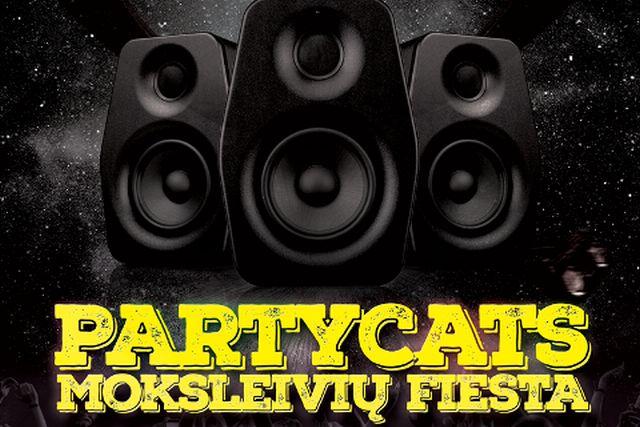 """Diskoteka moksleiviams su DJ """"Partycats"""""""