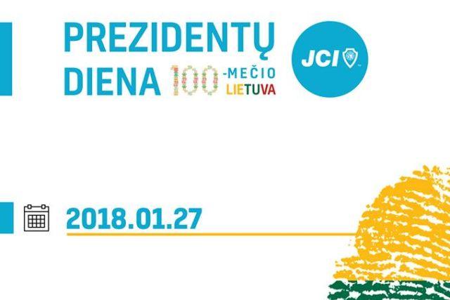 """Lyderystės konferencija """"Prezidentų diena 2018"""""""