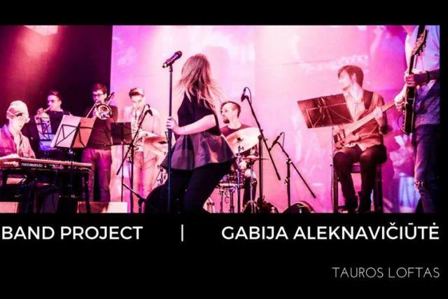 Cool Band Project ir Gabija Aleknavičiūtė