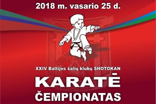 XXIV Baltijos šalių SHOTOKAN karatė čempionatas