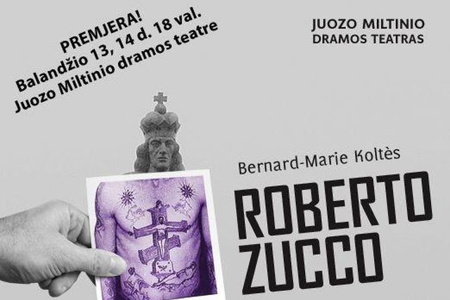 """NUMATOMA PREMJERA! """"ROBERTO ZUCCO"""""""