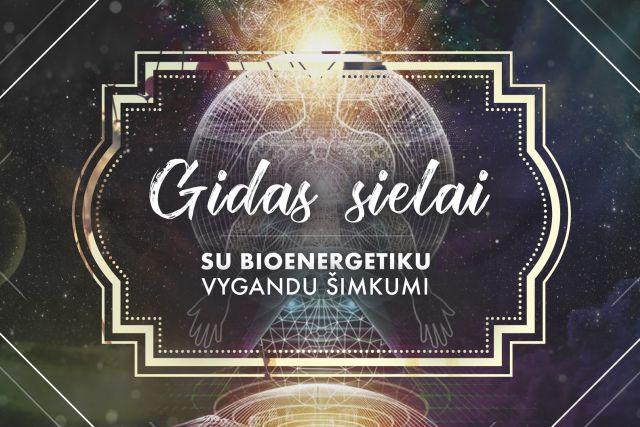 Gidas sielai: Bioenergetika, gydymas, intuicija