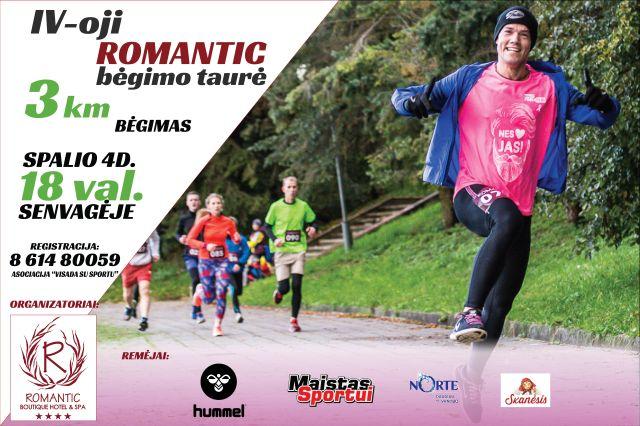 IV – oji Romantic bėgimo taurė