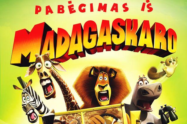 """""""Pabėgimas iš Madagaskaro"""""""