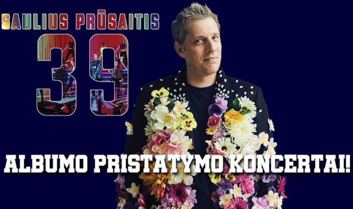 Saulius Prūsaitis' 39 naujo albumo pristatymas