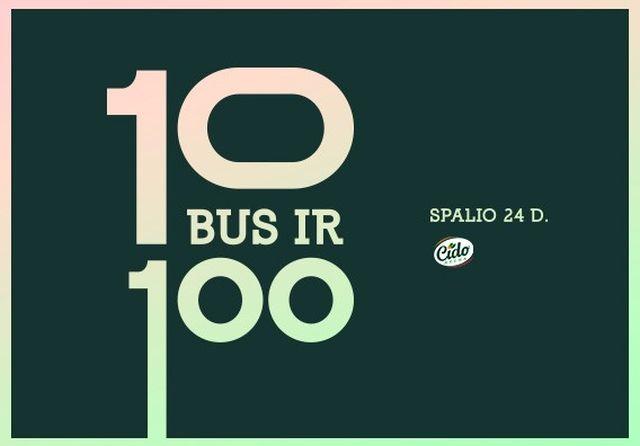 """""""10 bus ir 100"""""""