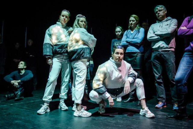 "Šokio teatro AIROS gastrolės: šokio spektaklis ""Z+"""