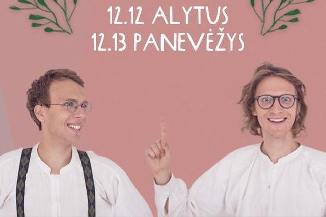 KŪJELIAI. Turas po Lietuvos teatrus