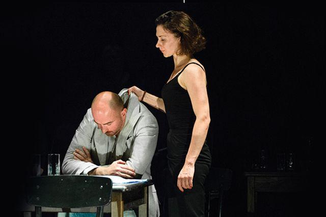 "Vilniaus mažojo teatro spektaklio ""Marti"""