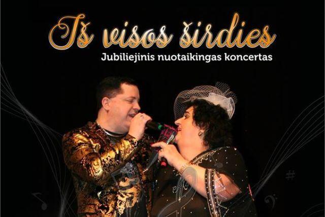 """Vitalijos Katunskytės ir Aido Maniko koncertas """"Iš visos širdies"""""""