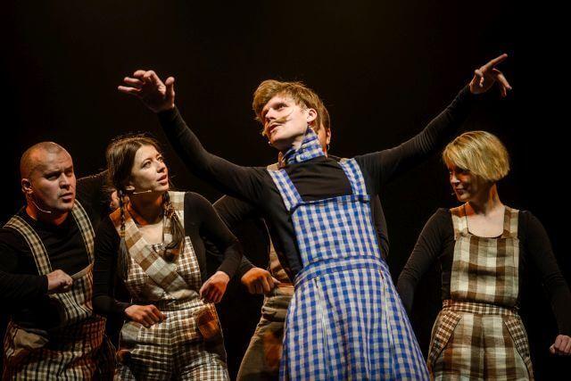 """Keistuolių teatro  muzikinis spektaklis  vaikams """"Bambeklis Bajoras"""""""