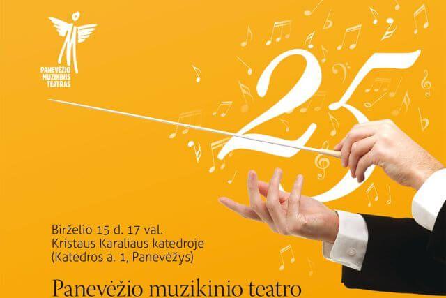 PAKYLĖK MANE IKI DANGAUS – Panevėžio muzikinio teatro simfoninio orkestro koncertas, skirtas teatro 25-mečiui