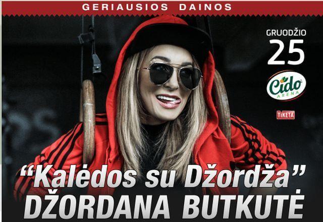 """Džordana Butkutė """"Kalėdos su Džordža"""""""